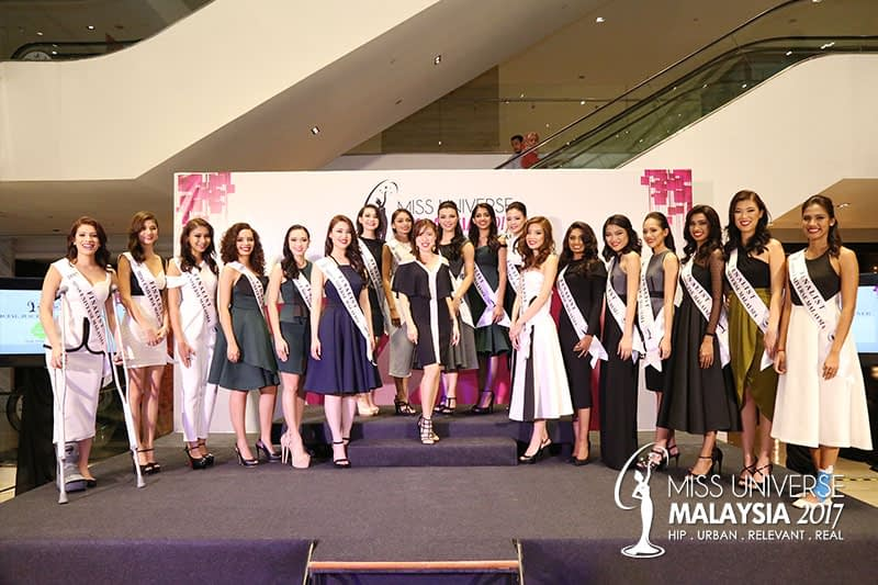 The Next Miss Universe Malaysia 2017 Press Conference