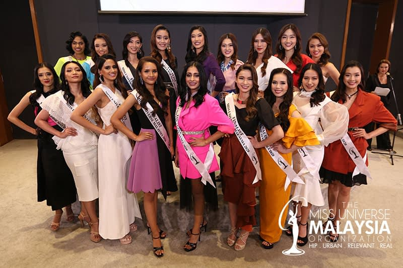 MUMO ANNOUNCES top 18 finalist of the Miss Universe Malaysia 2020