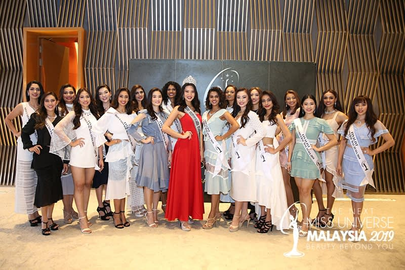 The Next Miss Universe Malaysia 2019 Press Conference – Top 18