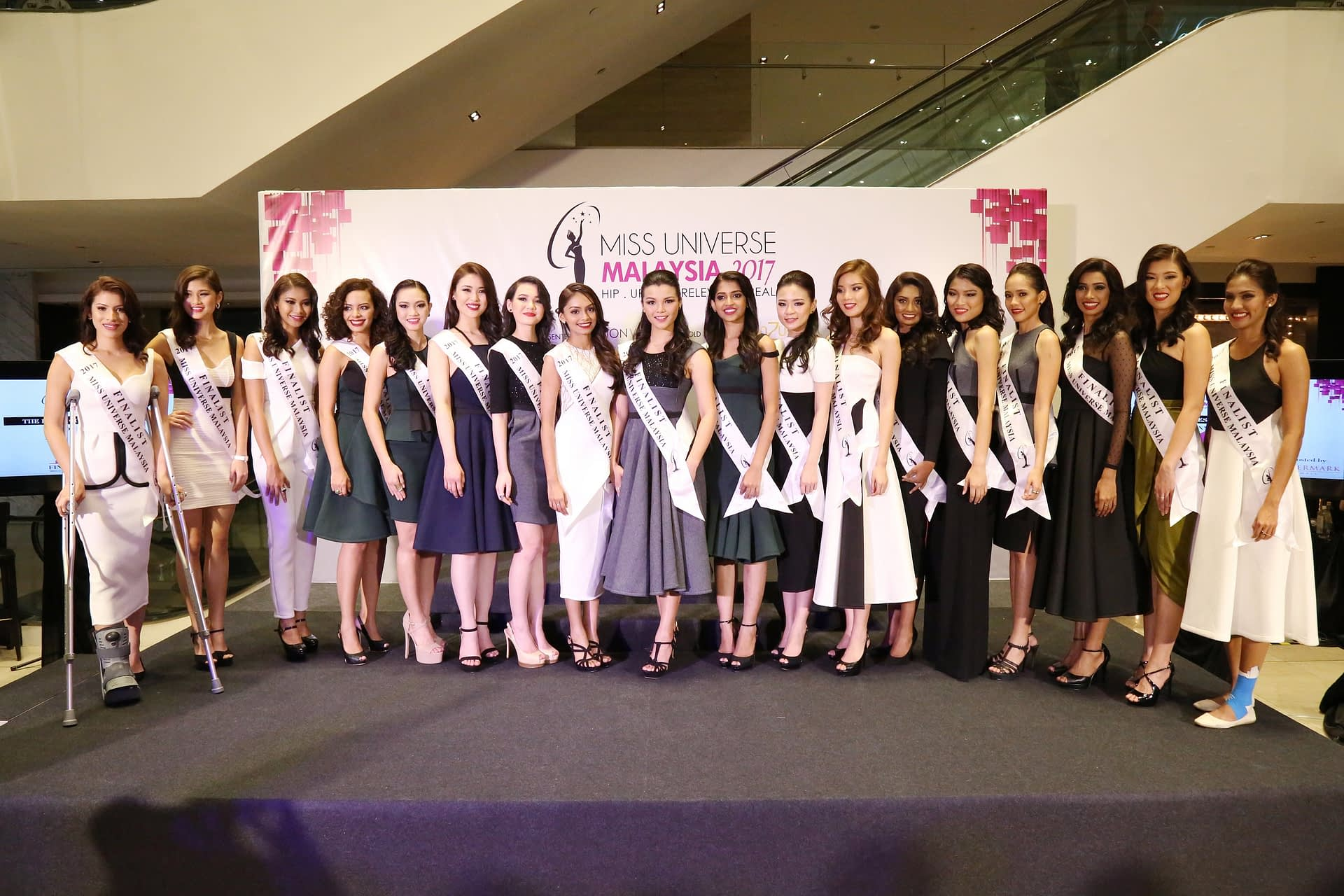 The Top 18 Finalist Of Miss Universe Malaysia 2017