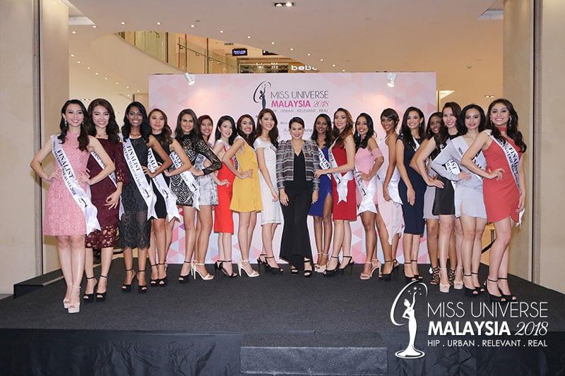 Miss Universe Malaysia 2018 Press Conference